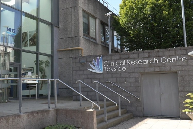 View of the outside of Clinical Research Centre in Tayside